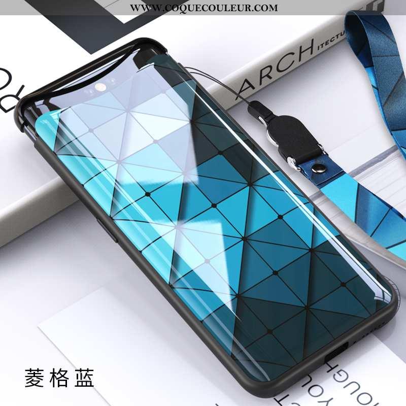 Housse Oppo Find X Légère Tout Compris Net Rouge, Étui Oppo Find X Protection Téléphone Portable Ble