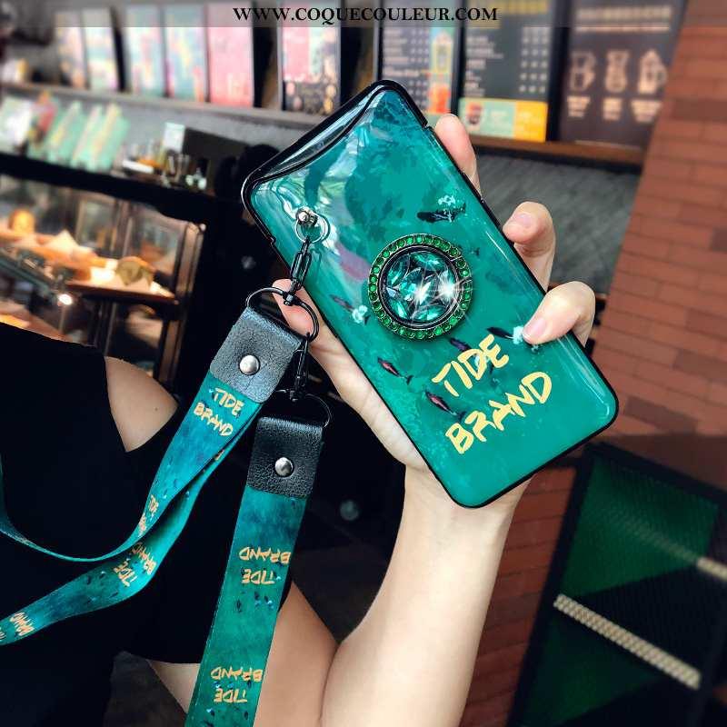 Coque Oppo Find X Créatif Téléphone Portable Incassable, Housse Oppo Find X Cou Suspendu Personnalit