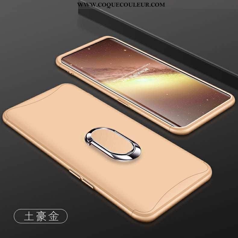 Housse Oppo Find X Protection Or Étui, Étui Oppo Find X Tout Compris Téléphone Portable Doré