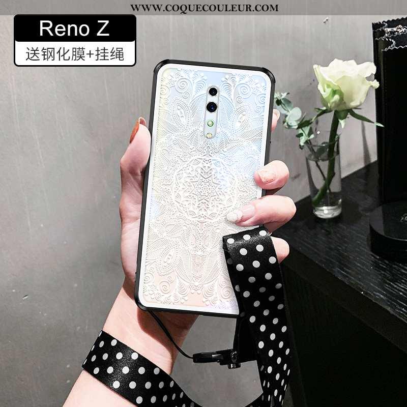 Coque Oppo Reno Z Légère Tout Compris, Housse Oppo Reno Z Silicone Téléphone Portable Blanche