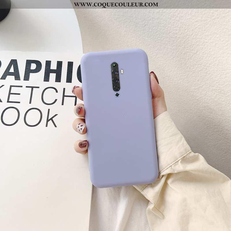 Coque Oppo Reno2 Silicone Téléphone Portable Tout Compris, Housse Oppo Reno2 Incassable Violet