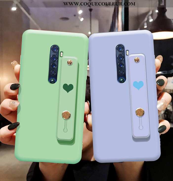 Étui Oppo Reno2 Fluide Doux Protection Bleu, Coque Oppo Reno2 Silicone Téléphone Portable Bleu