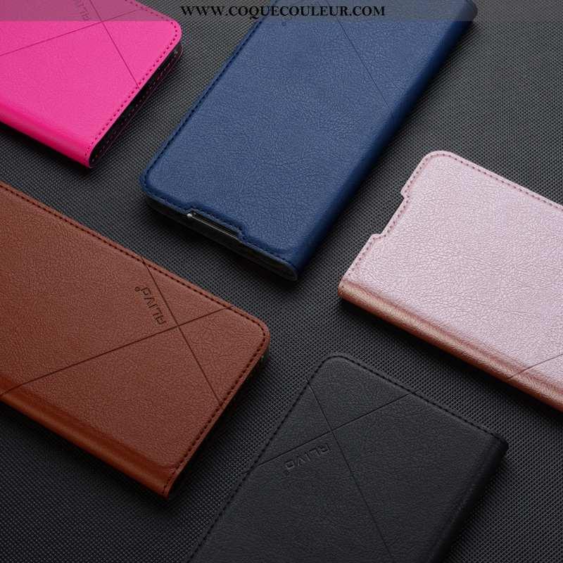 Coque Oppo Reno2 Z Fluide Doux Protection Bleu, Housse Oppo Reno2 Z Silicone Téléphone Portable Bleu