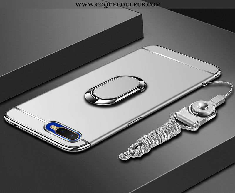 Coque Oppo Rx17 Neo Protection Téléphone Portable Anneau, Housse Oppo Rx17 Neo Créatif Difficile Bla