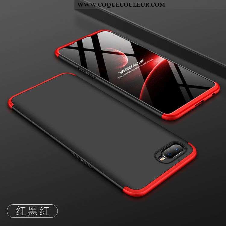 Coque Oppo Rx17 Neo Protection Légère Ultra, Housse Oppo Rx17 Neo Personnalité Net Rouge