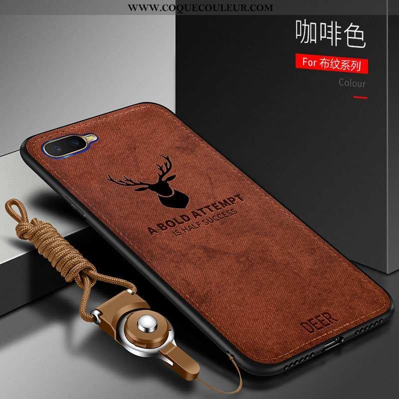 Coque Oppo Rx17 Neo Tendance Marron Créatif, Housse Oppo Rx17 Neo Fluide Doux Téléphone Portable