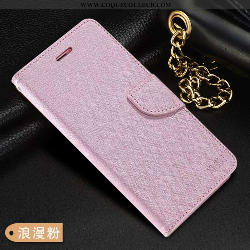 Coque Oppo Rx17 Neo Fluide Doux Cuir Étui, Housse Oppo Rx17 Neo Silicone Rose