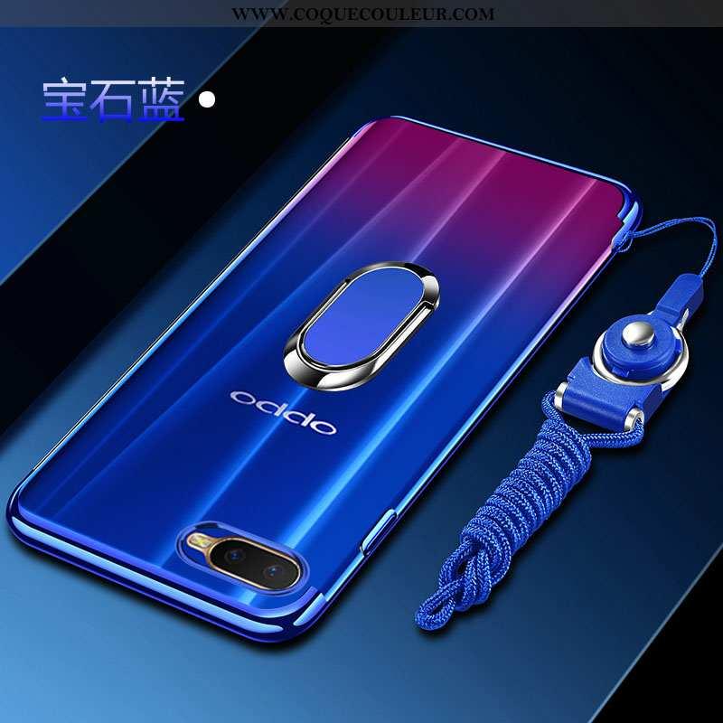 Étui Oppo Rx17 Neo Mode Bleu Anneau, Coque Oppo Rx17 Neo Protection