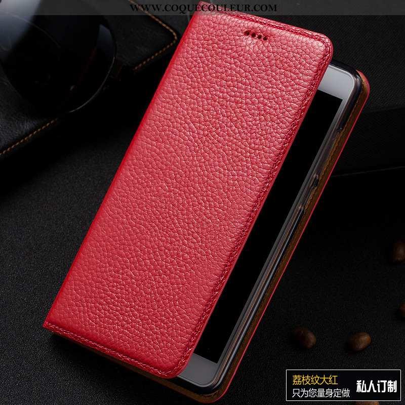 Coque Samsung Galaxy A10 Cuir Véritable Tout Compris Téléphone Portable, Housse Samsung Galaxy A10 C