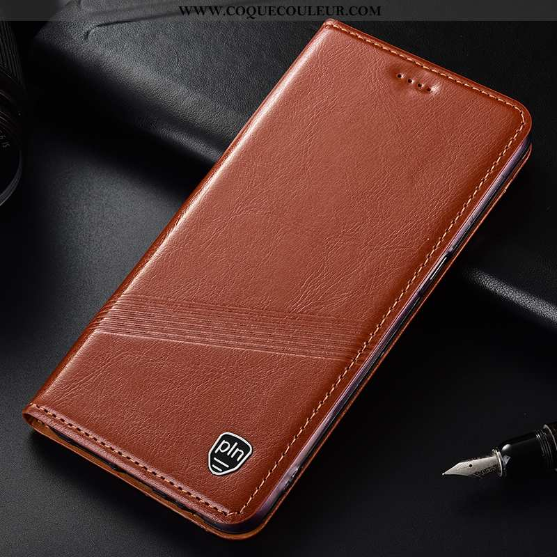 Coque Samsung Galaxy A10 Cuir Véritable Étoile Téléphone Portable, Housse Samsung Galaxy A10 Cuir To