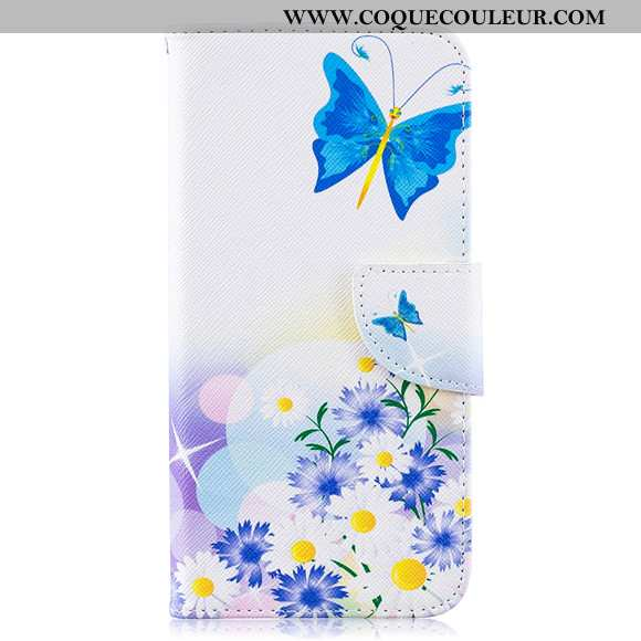 Étui Samsung Galaxy A10 Protection Étoile Blanc, Coque Samsung Galaxy A10 Silicone Tout Compris Blan
