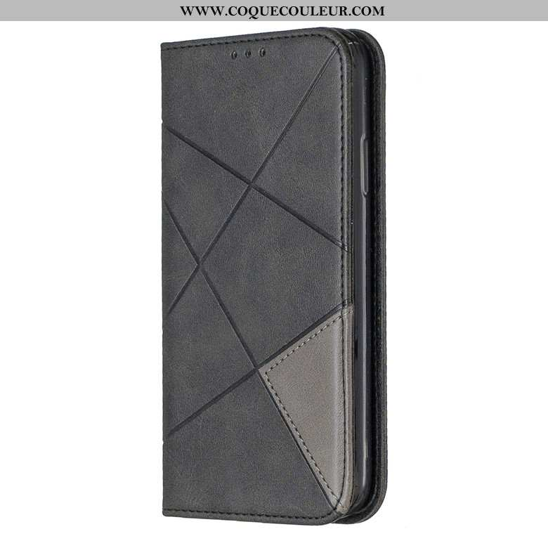 Housse Samsung Galaxy A10s Protection Coque Noir, Étui Samsung Galaxy A10s Portefeuille Étoile Noir