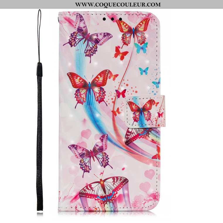 Housse Samsung Galaxy A10s Protection Rose Incassable, Étui Samsung Galaxy A10s Dessin Animé Télépho