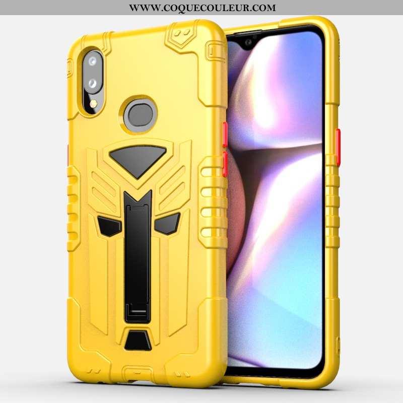 Coque Samsung Galaxy A10s Fluide Doux Support Téléphone Portable, Housse Samsung Galaxy A10s Protect