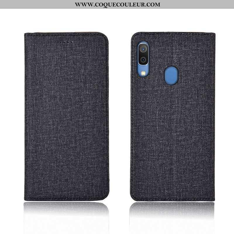 Coque Samsung Galaxy A20e Silicone Incassable Gris, Housse Samsung Galaxy A20e Protection Étui Gris