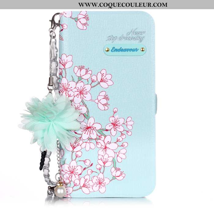 Coque Samsung Galaxy A20e Protection Étoile Housse, Housse Samsung Galaxy A20e Cuir Étui Bleu