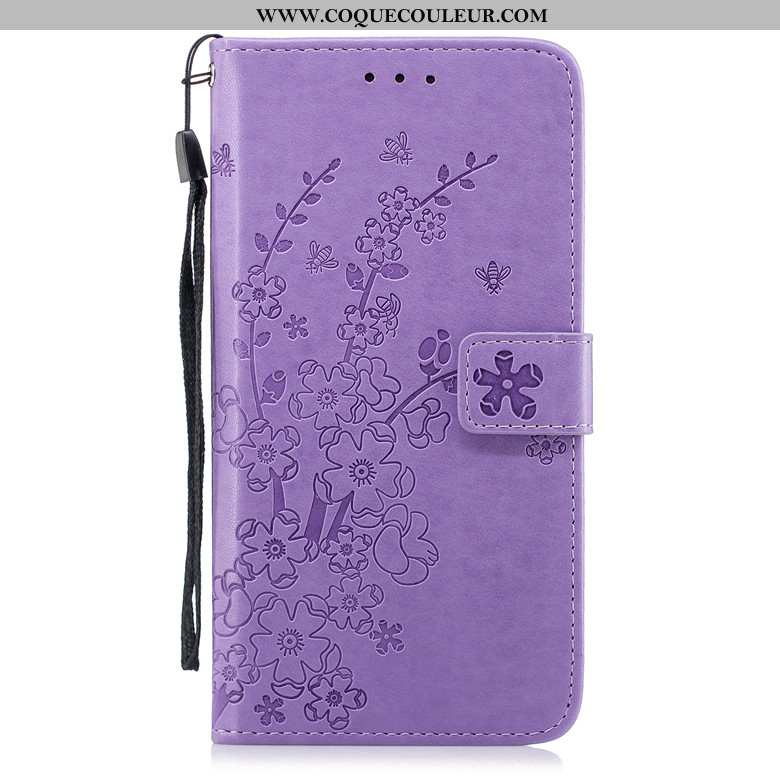 Coque Samsung Galaxy A20s Fluide Doux Housse, Housse Samsung Galaxy A20s Protection Violet