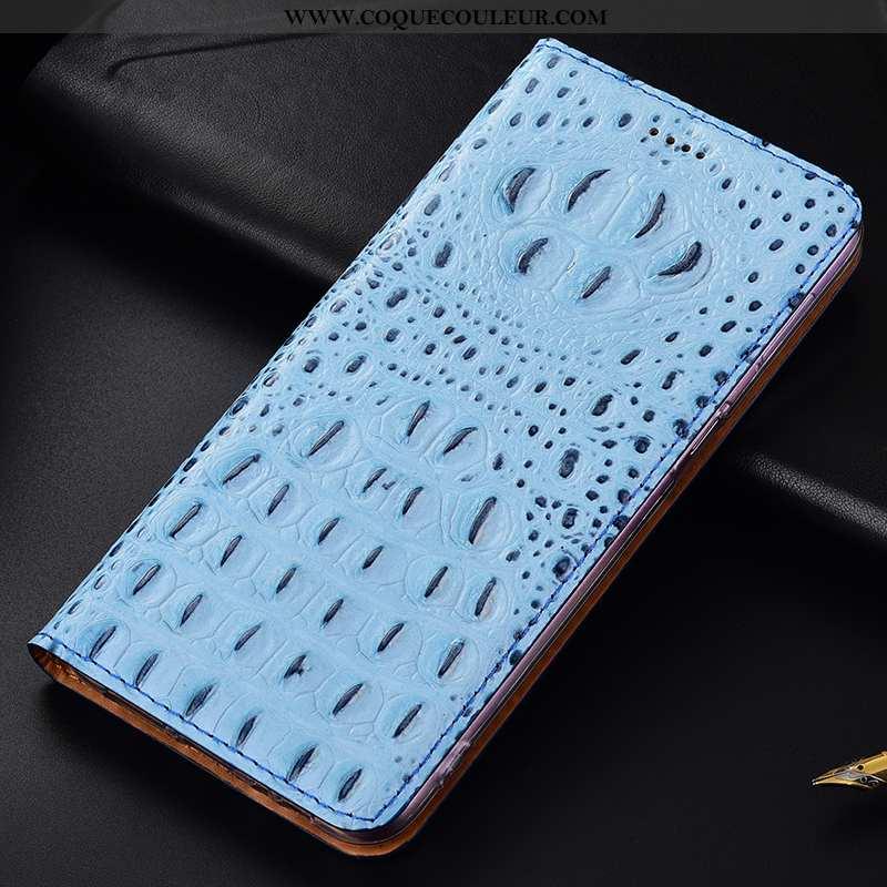 Étui Samsung Galaxy A20s Cuir Véritable Housse Incassable, Coque Samsung Galaxy A20s Protection Étoi