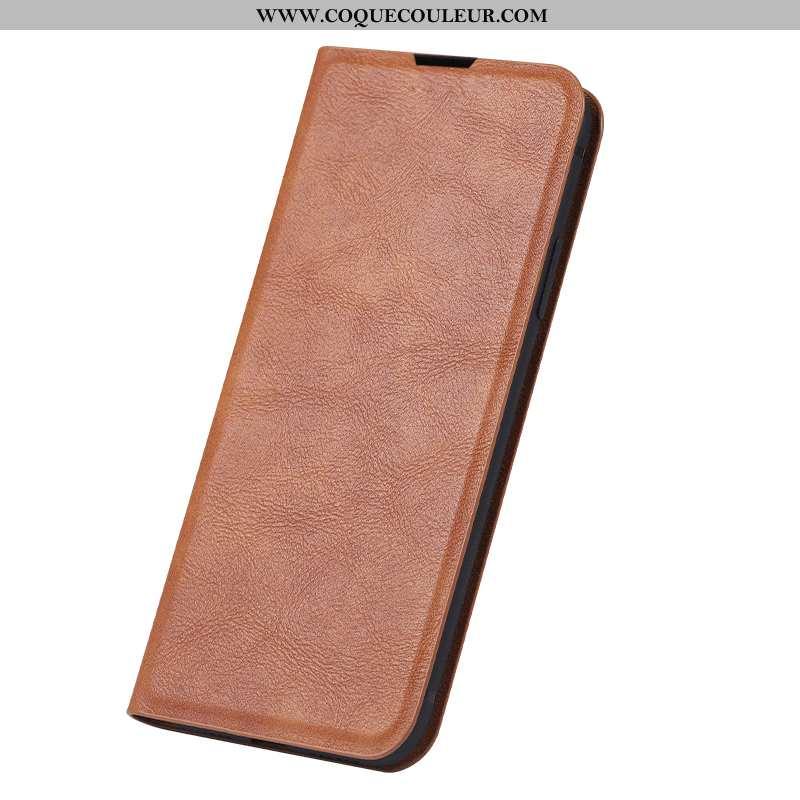 Étui Samsung Galaxy A20s Protection Clamshell Téléphone Portable, Coque Samsung Galaxy A20s Cuir Vér