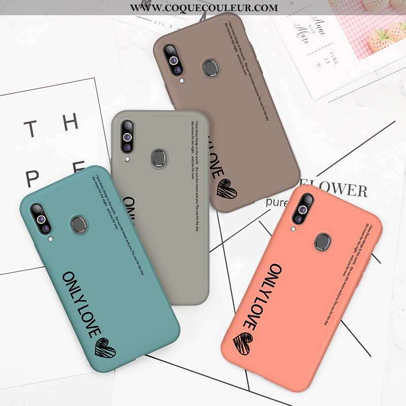 Étui Samsung Galaxy A20s Ultra Fluide Doux Légère, Coque Samsung Galaxy A20s Tendance Bleu