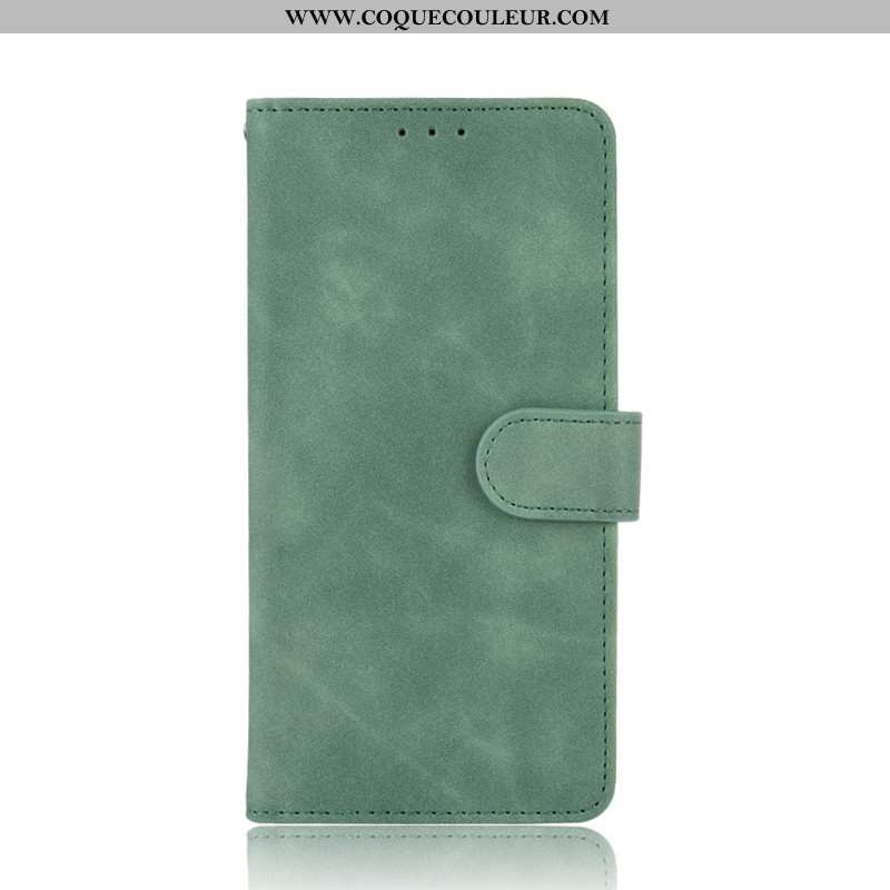 Housse Samsung Galaxy A21s Protection Bovins Vert, Étui Samsung Galaxy A21s Portefeuille Verte