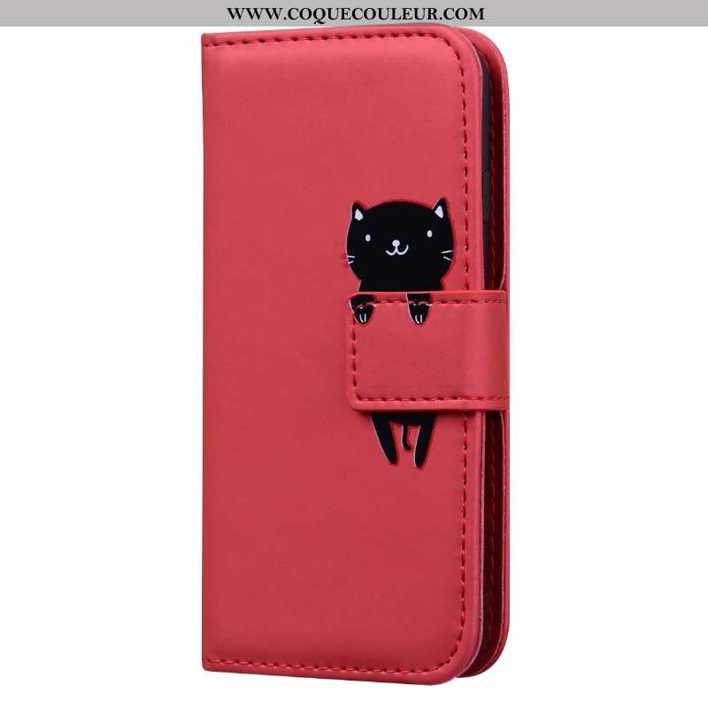 Étui Samsung Galaxy A21s Fluide Doux Coque Étui, Samsung Galaxy A21s Protection Clamshell Rouge