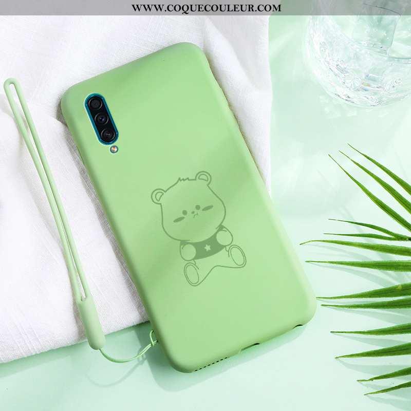 Coque Samsung Galaxy A30s Légère Téléphone Portable Vert, Housse Samsung Galaxy A30s Silicone Net Ro