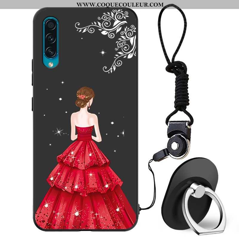 Housse Samsung Galaxy A30s Fluide Doux Yarn Téléphone Portable, Étui Samsung Galaxy A30s Mode Délavé