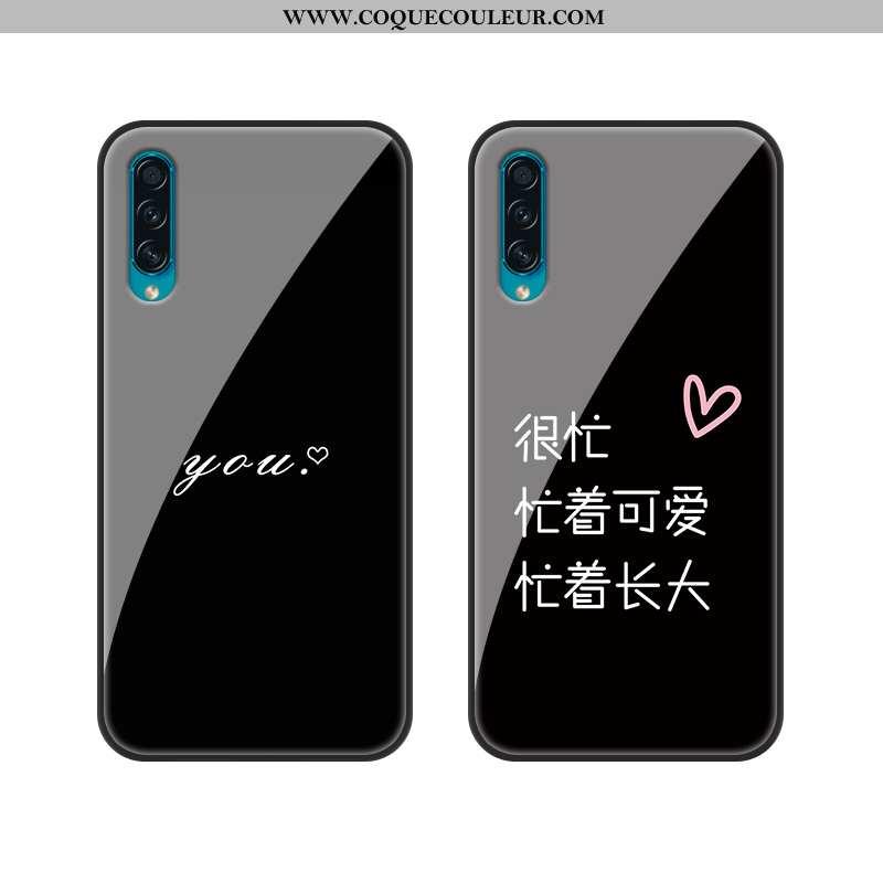 Housse Samsung Galaxy A30s Fluide Doux Personnalité Protection, Étui Samsung Galaxy A30s Silicone In