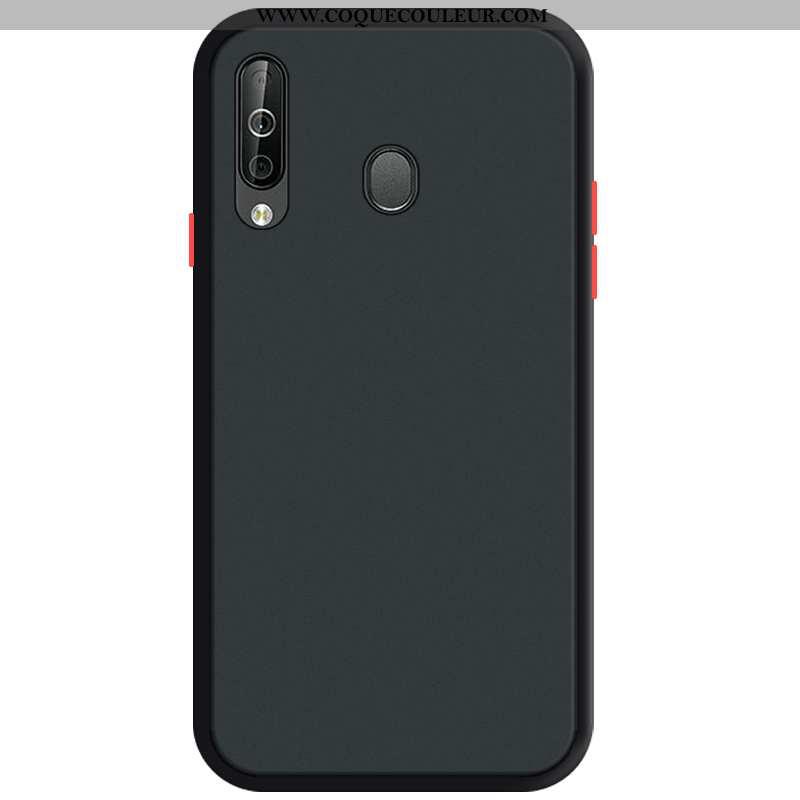 Coque Samsung Galaxy A40s Délavé En Daim Tout Compris, Housse Samsung Galaxy A40s Protection Télépho