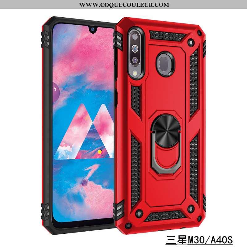 Étui Samsung Galaxy A40s Tendance Anneau Silicone, Coque Samsung Galaxy A40s Fluide Doux Nouveau Rou