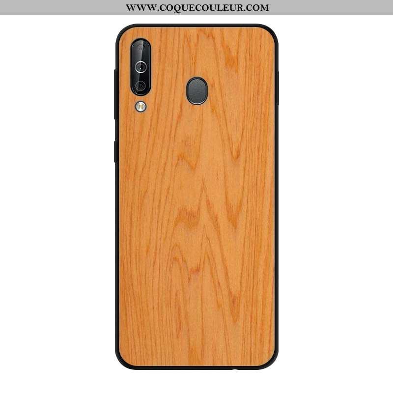 Housse Samsung Galaxy A40s Protection Étoile Vent, Étui Samsung Galaxy A40s Verre Dégradé Khaki