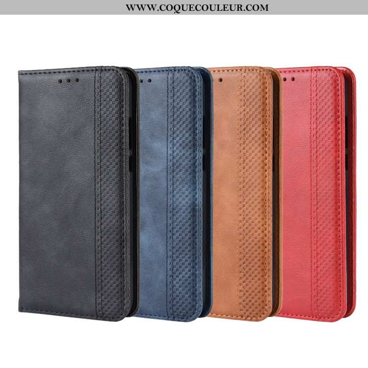 Coque Samsung Galaxy A40s Protection Housse Étui, Samsung Galaxy A40s Portefeuille Magnétisme Noir