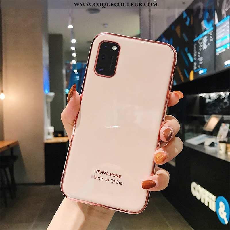 Housse Samsung Galaxy A41 Protection Fluide Doux Légères, Étui Samsung Galaxy A41 Personnalité Simpl