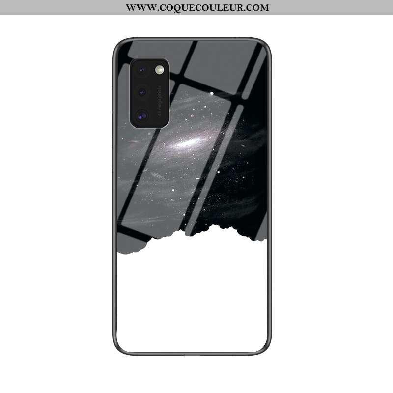 Coque Samsung Galaxy A41 Tendance Nouveau Incassable, Housse Samsung Galaxy A41 Silicone Tout Compri