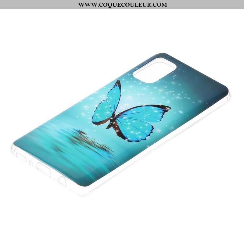 Housse Samsung Galaxy A41 Dessin Animé Coque Téléphone Portable, Étui Samsung Galaxy A41 Lumineuses