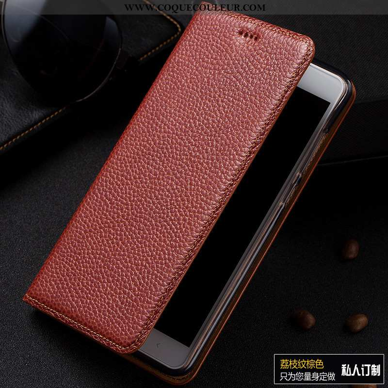 Housse Samsung Galaxy A50 Protection Cuir Téléphone Portable, Étui Samsung Galaxy A50 Cuir Véritable