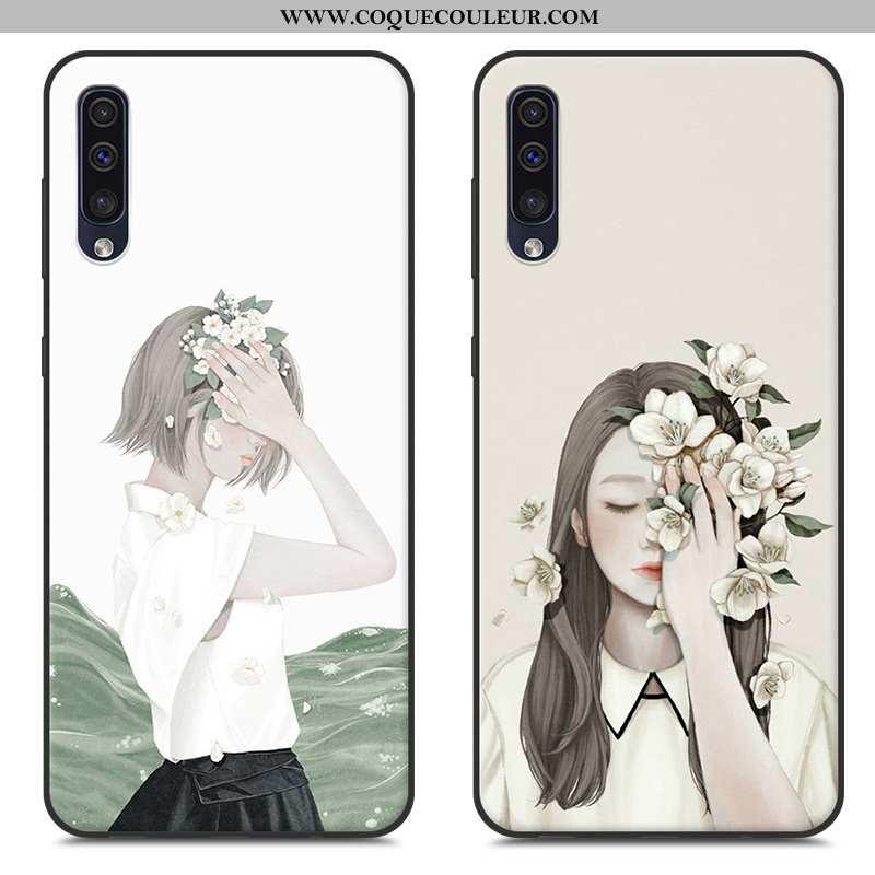 Étui Samsung Galaxy A50 Personnalité Fluide Doux Protection, Coque Samsung Galaxy A50 Créatif Téléph