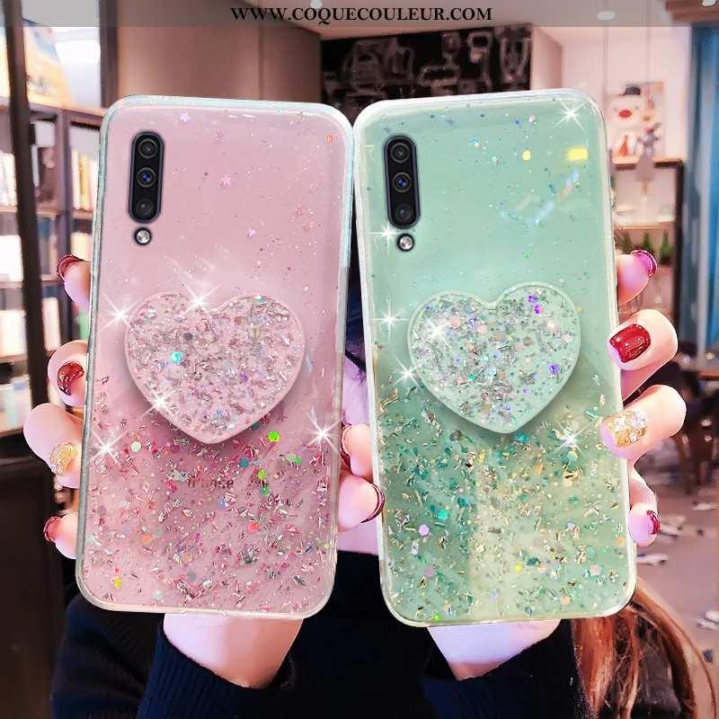 Étui Samsung Galaxy A50 Transparent Téléphone Portable, Coque Samsung Galaxy A50 Protection Incassab