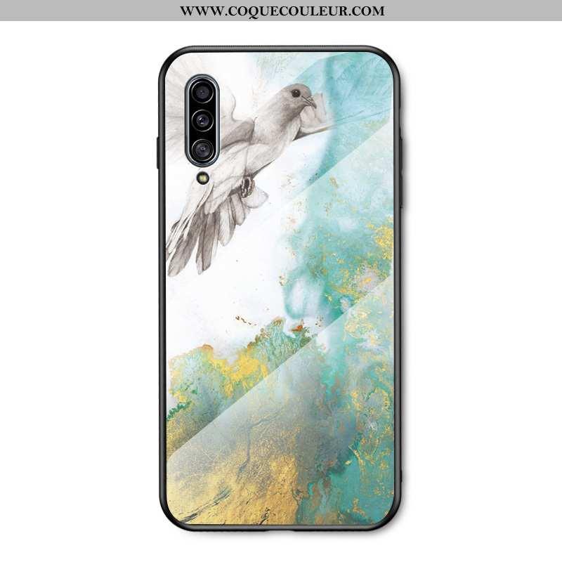 Housse Samsung Galaxy A50 Protection Étoile Tout Compris, Étui Samsung Galaxy A50 Verre Peinture Ble
