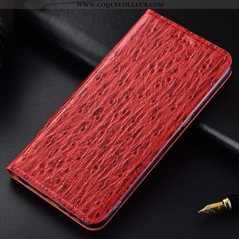 Housse Samsung Galaxy A50s Cuir Véritable Incassable Téléphone Portable, Étui Samsung Galaxy A50s Mo