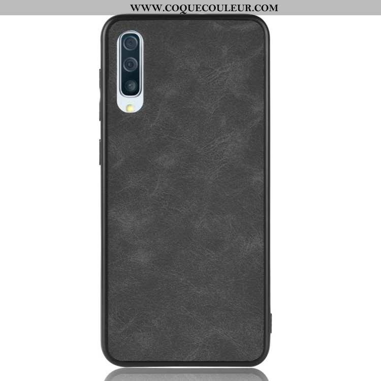 Coque Samsung Galaxy A50s Ultra Incassable Tout Compris, Housse Samsung Galaxy A50s Légère Étui Noir