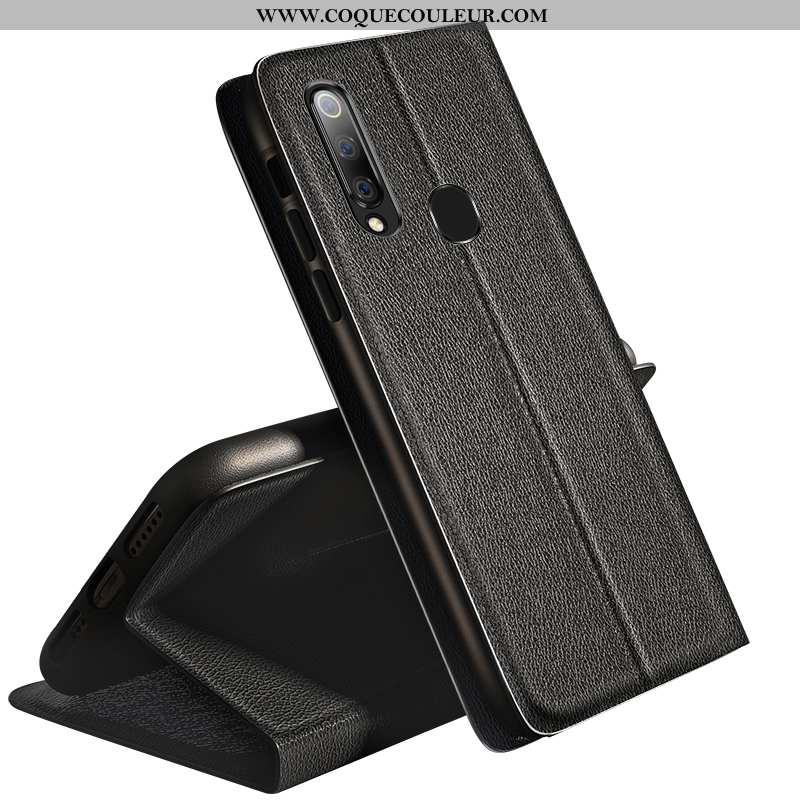 Étui Samsung Galaxy A60 Silicone Noir Étui, Coque Samsung Galaxy A60 Protection