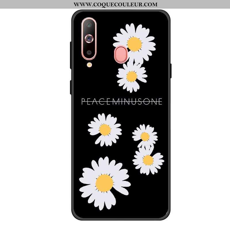 Étui Samsung Galaxy A60 Protection Coque Dragon, Samsung Galaxy A60 Téléphone Portable Noir