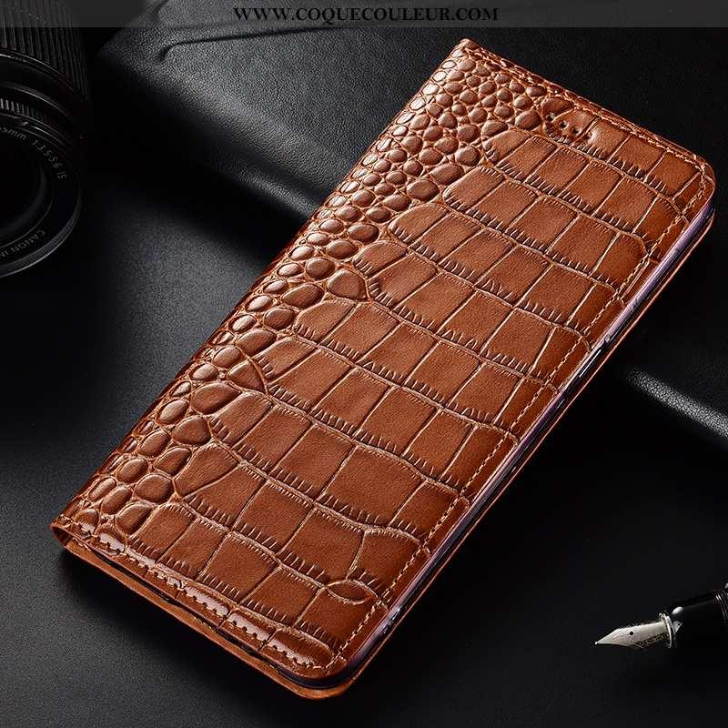 Coque Samsung Galaxy A70 Protection Tout Compris Clamshell, Housse Samsung Galaxy A70 Cuir Véritable