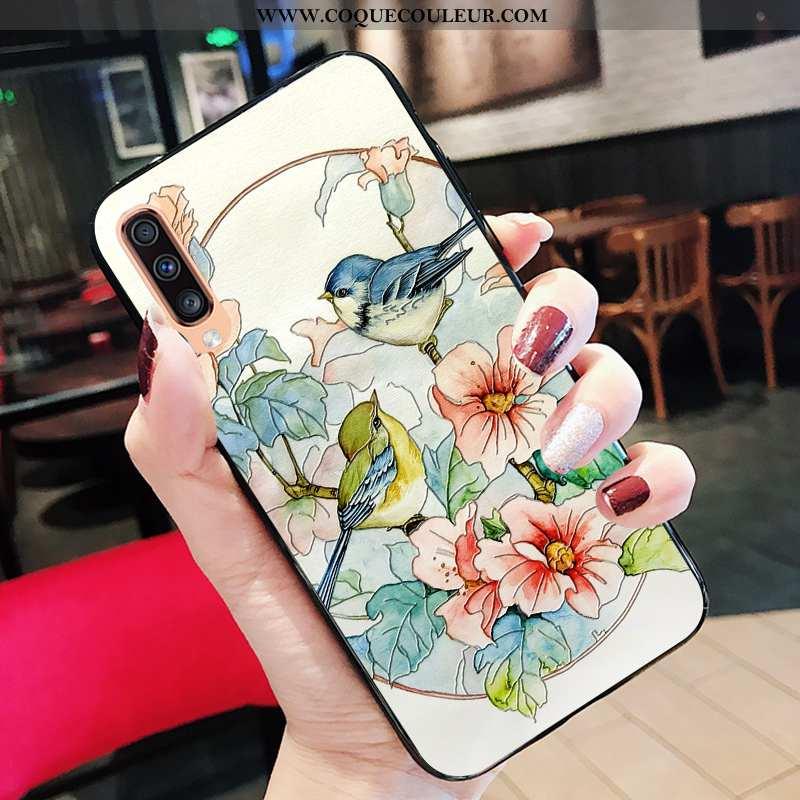 Étui Samsung Galaxy A70 Protection Mode Étui, Coque Samsung Galaxy A70 Tendance Nouveau Blanche