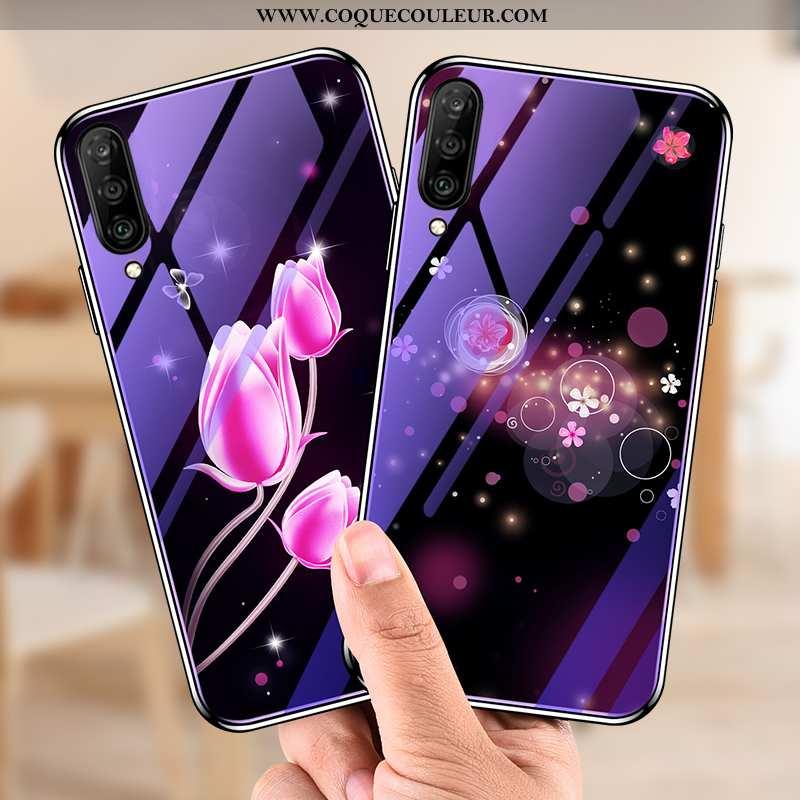 Housse Samsung Galaxy A70 Verre Téléphone Portable Étui, Étui Samsung Galaxy A70 Personnalité Créati