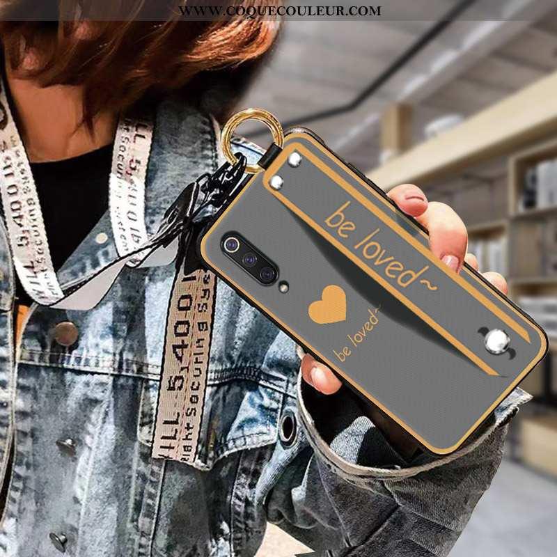 Coque Samsung Galaxy A70 Fluide Doux Gris Coque, Housse Samsung Galaxy A70 Protection Délavé En Daim