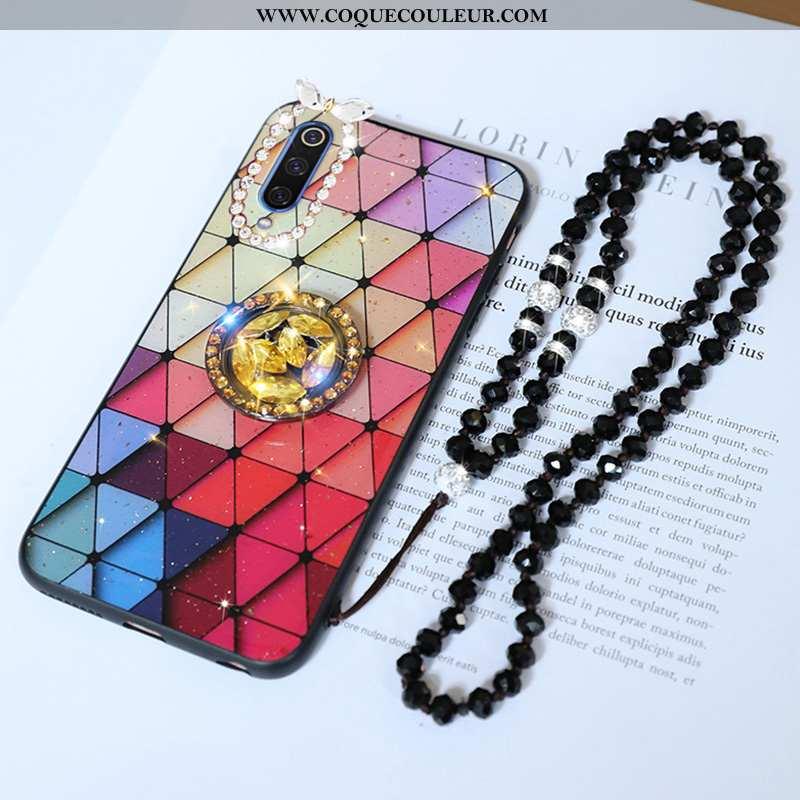 Housse Samsung Galaxy A70 Tendance Rouge Protection, Étui Samsung Galaxy A70 Fluide Doux Personnalit