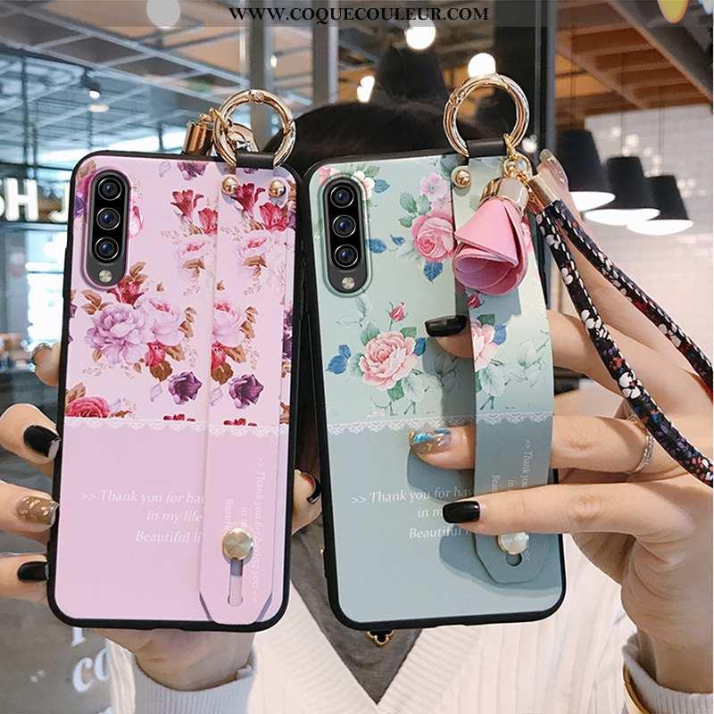 Housse Samsung Galaxy A70s Tendance Légères Silicone, Étui Samsung Galaxy A70s Légère Étoile Rose